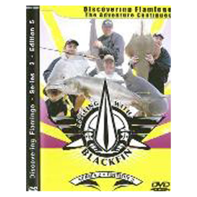 DVD ANGLING WITH BLK FIN- FLAMINGO 2